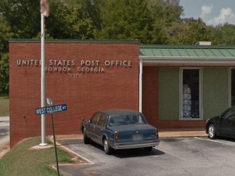 Bowdon Post Office